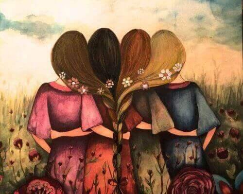 vriendinnen of zussen