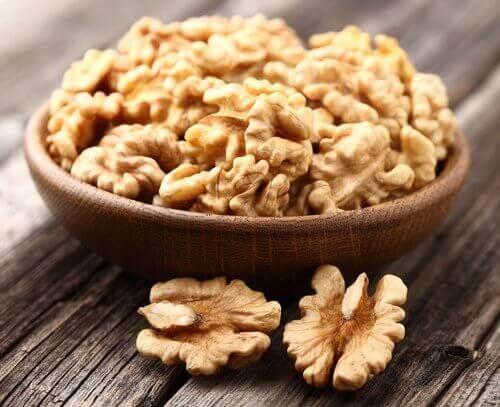 Je lever zuiveren met noten