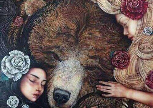 zussen en een beer