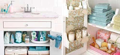 13 tips om je badkamer schoon en netjes te houden