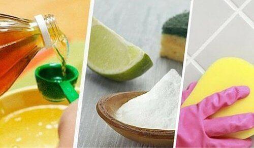 Maak voegen op natuurlijke wijze schoon met deze trucjes
