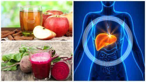 Vijf huisgemaakte drankjes die je lever ontgiften