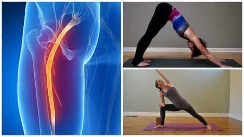Yoga-oefeningen voor ischias