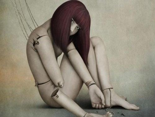 Een pop aan touwtjes
