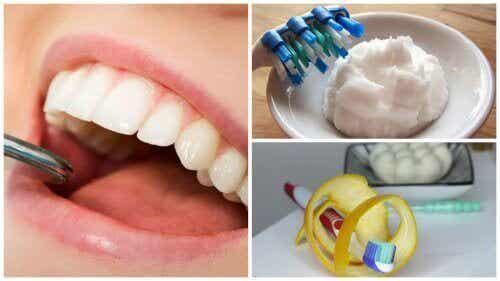 Op natuurlijke wijze tandplak verwijderen met deze huismiddeltjes