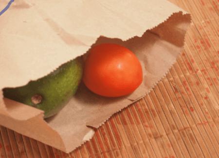 Avocado met Tomaat