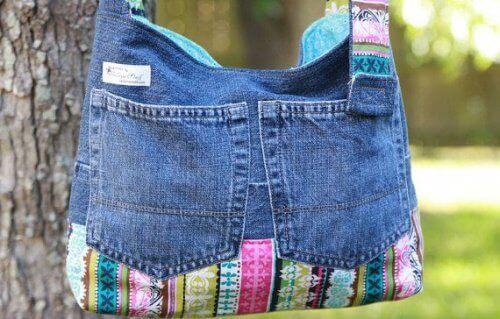 Tas van Jeans