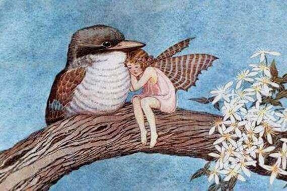 fee en vogeltje