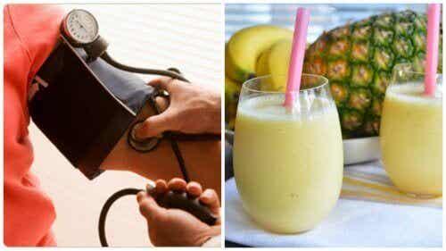 Ochtendshake om een hoge bloeddruk tegen te gaan