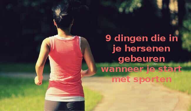 Wat gebeurt er in je hersenen als je start met sporten?