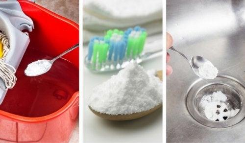 Zes geweldige manieren om baking soda te gebruiken