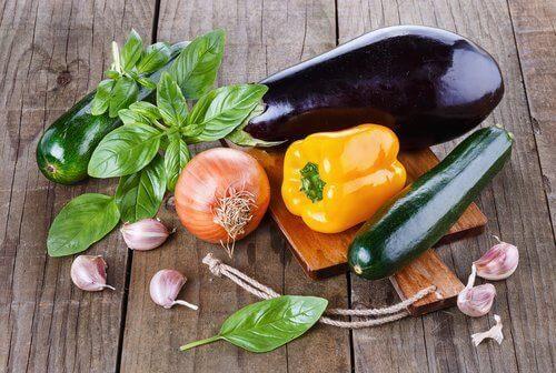 Eet groente bij een urineweginfectie