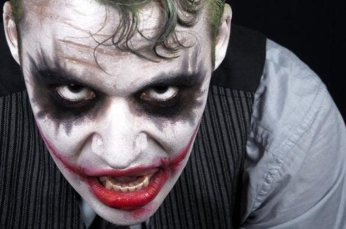 De joker is een voorbeeld van een psychopaat