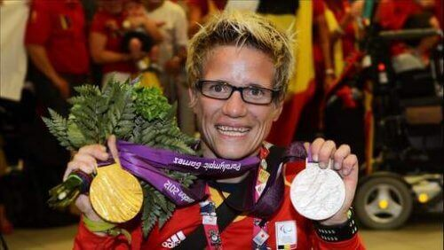 Marieke Vervoort met Medailles