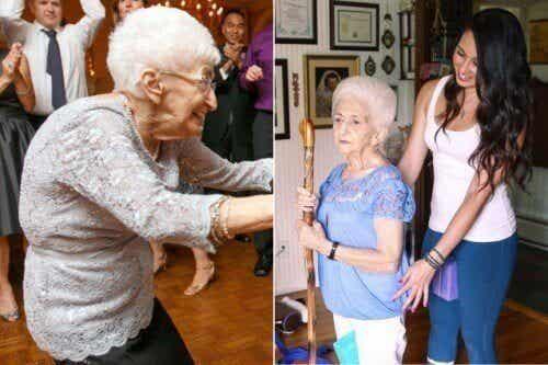 Hoe yoga het leven veranderde van een 87-jarige vrouw