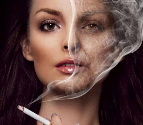 Wat nicotine doet met je huid
