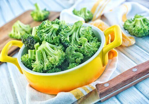 Broccoli en Pan