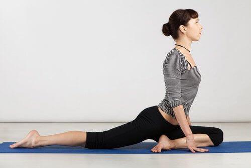 Yogahouding