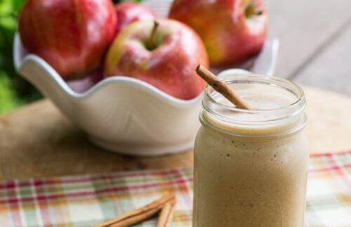 4 smoothies met appels voor een strakke buik