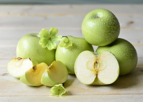 Groene Appels in Partjes