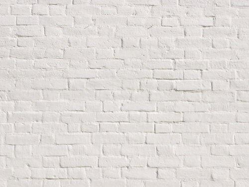 Een witte muur om je geest te ontspannen