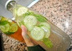 Fles Komkommerwater