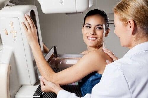 Mammografie in het ziekenhuis