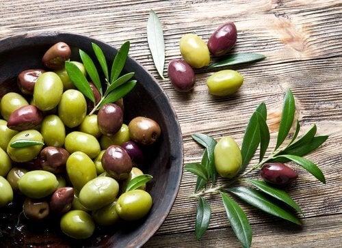 Olijven zijn zwavelrijke voedingsmiddelen