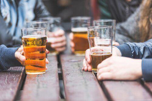 Glazen Bier