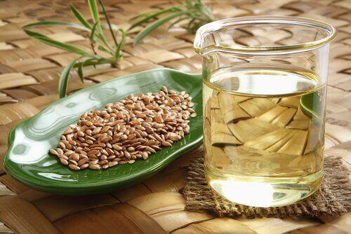 Lijnzaadwater helpt tegen maagzuur