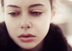 Verdrietige Vrouw