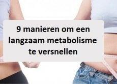 Metabolisme een Boost Geven