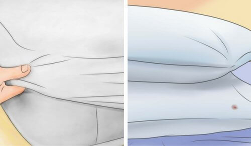 Hoe krijg je je matras en kussen weer wit