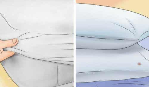 Hoe krijg je je matras en kussens weer wit