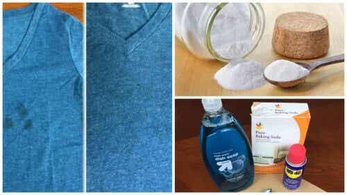 Denk je erover om kleren met vetvlekken weg te gooien? Probeer deze trucjes eens!
