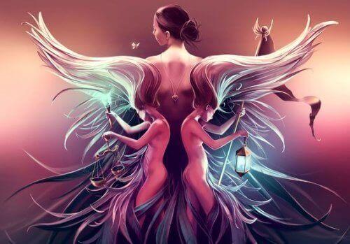 Vrouw met Vleugels