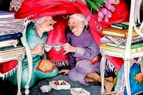 Oud worden in het gezelschap van mensen die jong van hart zijn