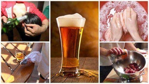 Negen alternatieve toepassingen van bier