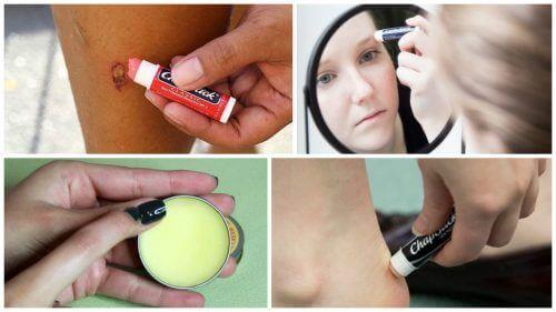 10 alternatieve manieren om lippenbalsem te gebruiken