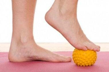 Oefeningen voor je voeten