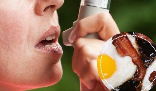 Voedsel dat je beter kunt vermijden als je astma hebt