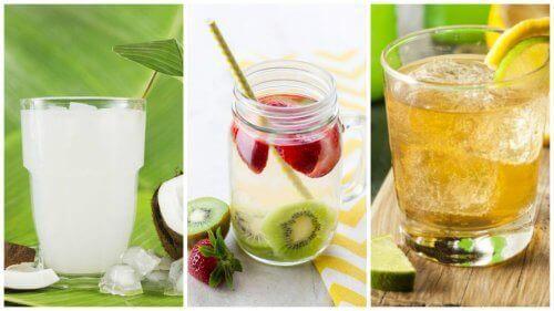 Reinig het lichaam en verlies gewicht met zuiverend water