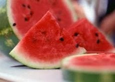 Watermeloen met Schil