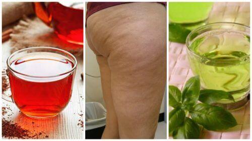 Zes kruidendrankjes tegen cellulite