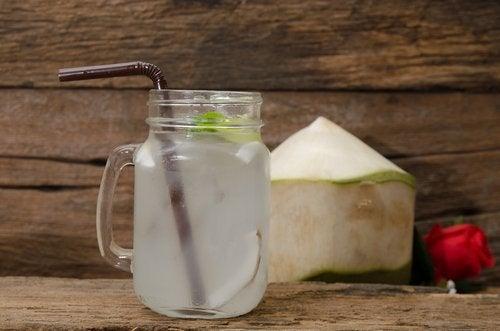 Zuiverende Kokosdrank