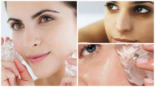 Zeven voordelen van ijstherapie voor je huid