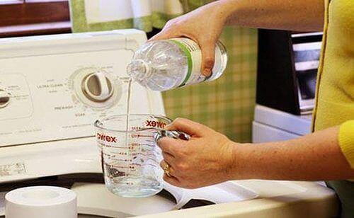 Wassen met Azijn