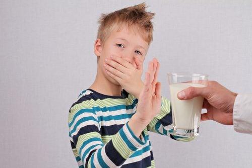 Kind met Lactose-intolerantie