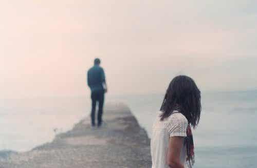 Verdergaan na een relatiebreuk is moeilijk