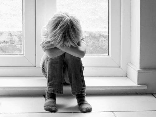 Een verdrietig kind